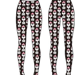 Adorable Penguins Christmas Yoga Leggings 0 24 Boutique